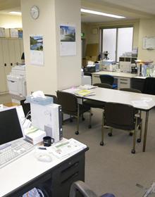 施工前のオフィス